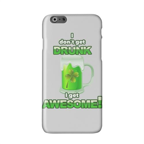 I Get Awesome Solid White Hard Case Cover for Apple iPhone 6 PLUS/6S PLUS (5.5 inch)