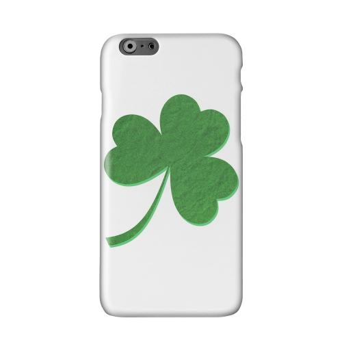Simple Clover Solid White Hard Case Cover for Apple iPhone 6 PLUS/6S PLUS (5.5 inch)