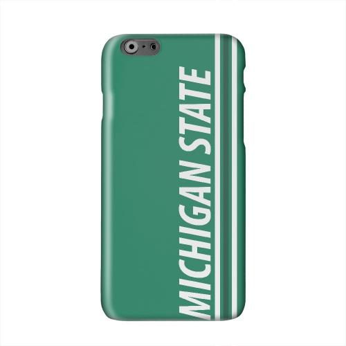 Michigan State Solid White Hard Case Cover for Apple iPhone 6 PLUS/6S PLUS (5.5 inch)