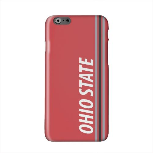 Ohio State Solid White Hard Case Cover for Apple iPhone 6 PLUS/6S PLUS (5.5 inch)