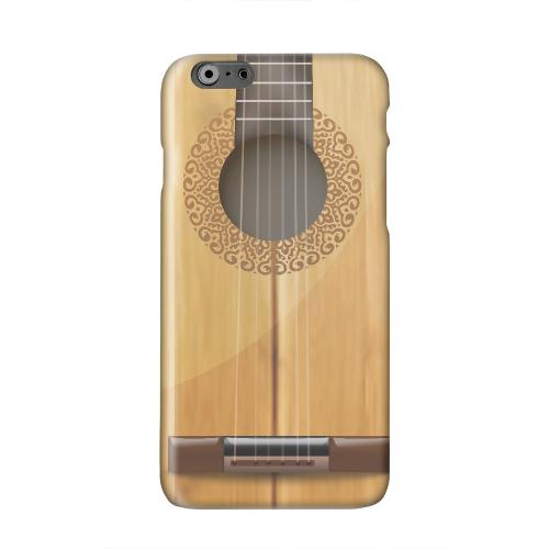 Acoustic Guitar Solid White Hard Case Cover for Apple iPhone 6 PLUS/6S PLUS (5.5 inch)