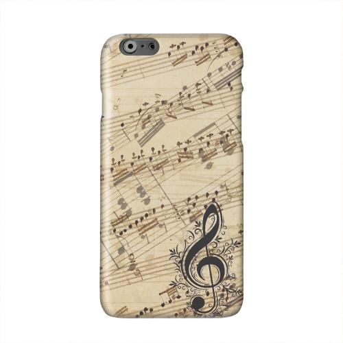 Allegro Grunge Solid White Hard Case Cover for Apple iPhone 6 PLUS/6S PLUS (5.5 inch)