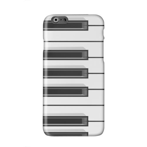 Piano Keys Solid White Hard Case Cover for Apple iPhone 6 PLUS/6S PLUS (5.5 inch)