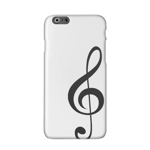 Simple Treble Clef Solid White Hard Case Cover for Apple iPhone 6 PLUS/6S PLUS (5.5 inch)