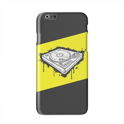 Wheel of Steel Yellow Solid White Hard Case Cover for Apple iPhone 6 PLUS/6S PLUS (5.5 inch)