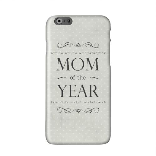 Mom of the Year Solid White Hard Case Cover for Apple iPhone 6 PLUS/6S PLUS (5.5 inch)