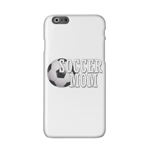 Soccer Mom Solid White Hard Case Cover for Apple iPhone 6 PLUS/6S PLUS (5.5 inch)