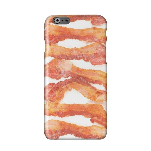 Bacon Goes Good Solid White Hard Case Cover for Apple iPhone 6 PLUS/6S PLUS (5.5 inch)