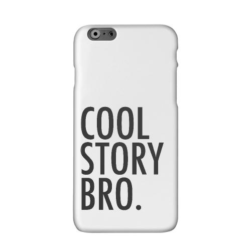 Cool Story Bro Solid White Hard Case Cover for Apple iPhone 6 PLUS/6S PLUS (5.5 inch)