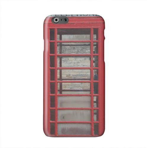 English Telephone Booth Solid White Hard Case Cover for Apple iPhone 6 PLUS/6S PLUS (5.5 inch)