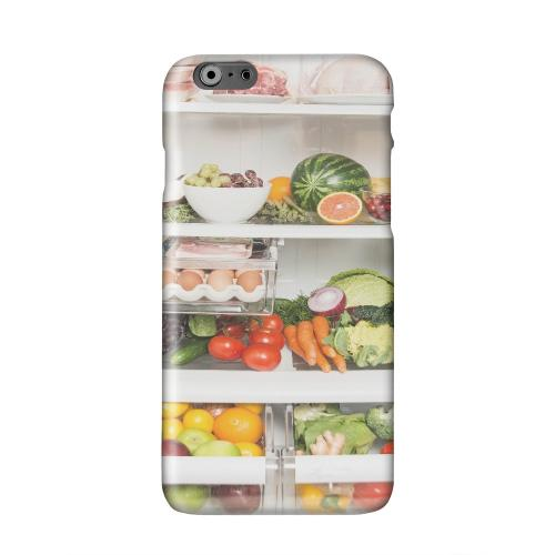 Refrigerator Solid White Hard Case Cover for Apple iPhone 6 Plus