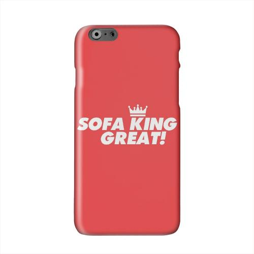 Sofa King Great Solid White Hard Case Cover for Apple iPhone 6 PLUS/6S PLUS (5.5 inch)