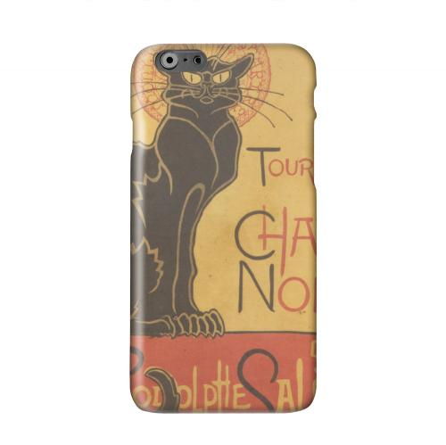 Le Chat Noir by Thophile-Alexandre Steinlen Solid White Hard Case Cover for Apple iPhone 6 PLUS/6S PLUS (5.5 inch)