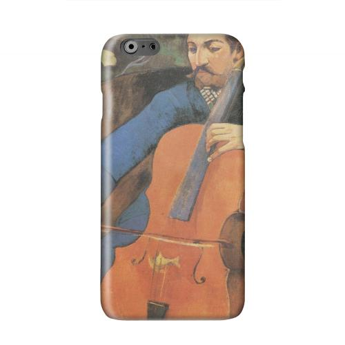 The Cellist by Paul Gauguin Solid White Hard Case Cover for Apple iPhone 6 PLUS/6S PLUS (5.5 inch)