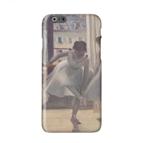 Three Dancers in an Exercise Hall by Edgar Degas Solid White Hard Case Cover for Apple iPhone 6 PLUS/6S PLUS (5.5 inch)