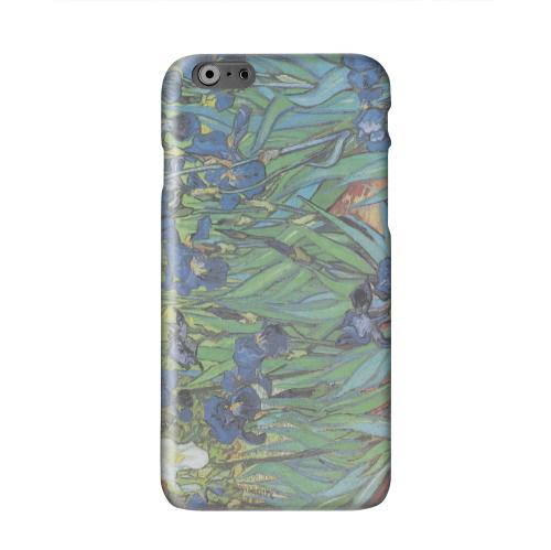 Irises by Vincent van Gogh Solid White Hard Case Cover for Apple iPhone 6 PLUS/6S PLUS (5.5 inch)