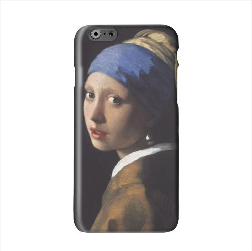 Girl with a Pearl Earring by Jan Vermeer Solid White Hard Case Cover for Apple iPhone 6 PLUS/6S PLUS (5.5 inch)