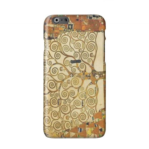 Tree of Life by Gustav Klimt Solid White Hard Case Cover for Apple iPhone 6 PLUS/6S PLUS (5.5 inch)