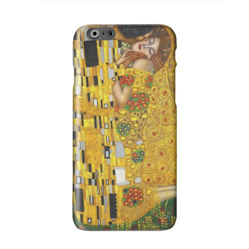 Gustav Klimt The Kiss Solid White Hard Case Cover for Apple iPhone 6 PLUS/6S PLUS (5.5 inch)