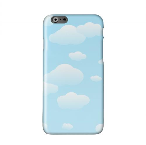 Peaceful Clouds Solid White Hard Case Cover for Apple iPhone 6 PLUS/6S PLUS (5.5 inch)