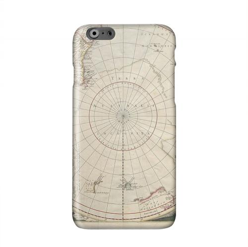 Terra Australis Incognita Solid White Hard Case Cover for Apple iPhone 6 PLUS/6S PLUS (5.5 inch)