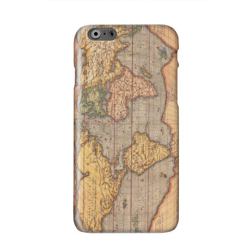 Ortelius World Map 1601 Solid White Hard Case Cover for Apple iPhone 6 PLUS/6S PLUS (5.5 inch)