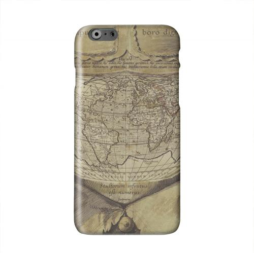 Ancient Map Head Solid White Hard Case Cover for Apple iPhone 6 PLUS/6S PLUS (5.5 inch)