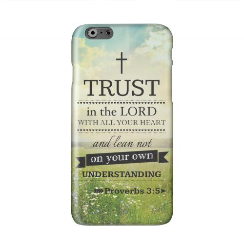 Proverbs 3:5 Solid White Hard Case Cover for Apple iPhone 6 PLUS/6S PLUS (5.5 inch)