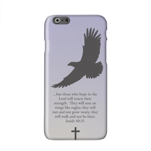 Isaiah 40:31 - Sleepy Grape Solid White Hard Case Cover for Apple iPhone 6 PLUS/6S PLUS (5.5 inch)