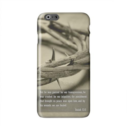 Isaiah 53:5 Solid White Hard Case Cover for Apple iPhone 6 PLUS/6S PLUS (5.5 inch)