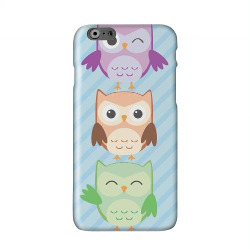 Happy Owl Pals Solid White Hard Case Cover for Apple iPhone 6 PLUS/6S PLUS (5.5 inch)