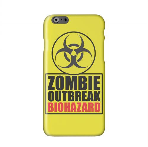 Zombie Outbreak Biohazard Solid White Hard Case Cover for Apple iPhone 6 PLUS/6S PLUS (5.5 inch)