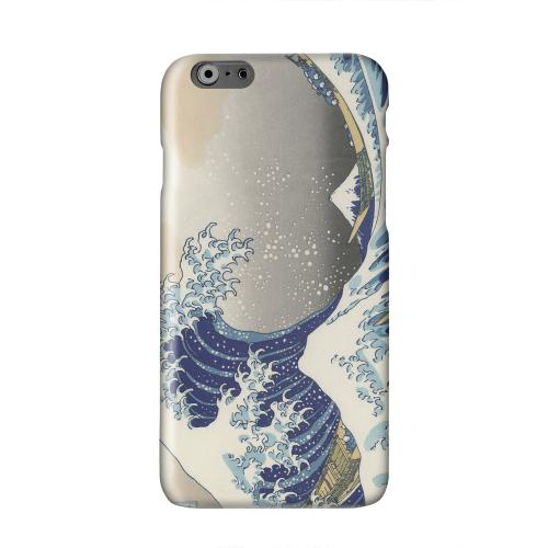 Katsushika Hokusai The Great Wave Off Kanagawa Solid White Hard Case Cover for Apple iPhone 6 PLUS/6S PLUS (5.5 inch)