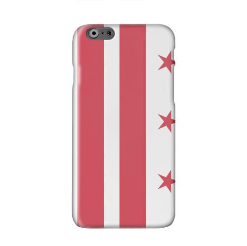 Washington, D.C. Solid White Hard Case Cover for Apple iPhone 6 PLUS/6S PLUS (5.5 inch)