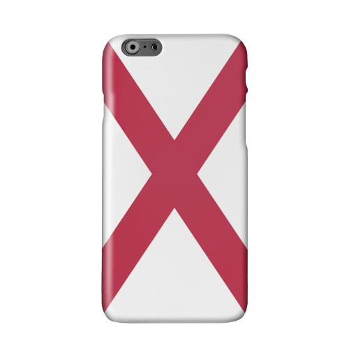 Alabama Solid White Hard Case Cover for Apple iPhone 6 Plus