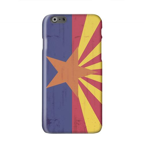 Grunge Arizona Solid White Hard Case Cover for Apple iPhone 6 PLUS/6S PLUS (5.5 inch)