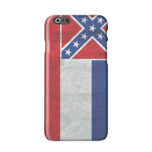 Grunge Mississippi Solid White Hard Case Cover for Apple iPhone 6 PLUS/6S PLUS (5.5 inch)