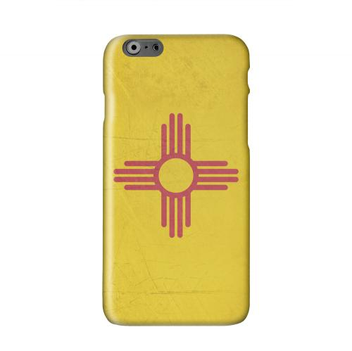 Grunge New Mexico Solid White Hard Case Cover for Apple iPhone 6 PLUS/6S PLUS (5.5 inch)