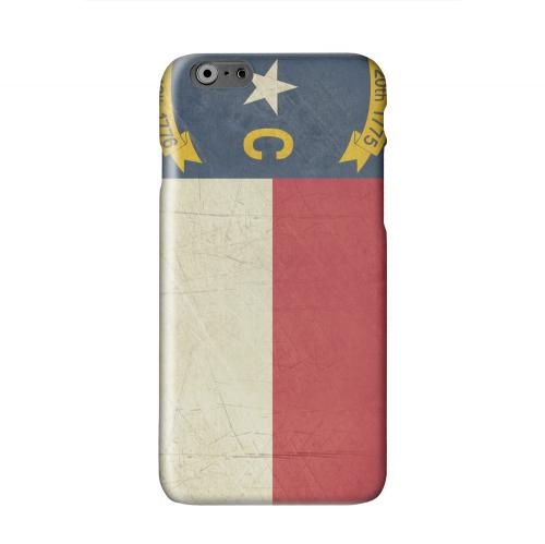 Grunge North Carolina Solid White Hard Case Cover for Apple iPhone 6 PLUS/6S PLUS (5.5 inch)