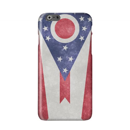 Grunge Ohio Solid White Hard Case Cover for Apple iPhone 6 Plus