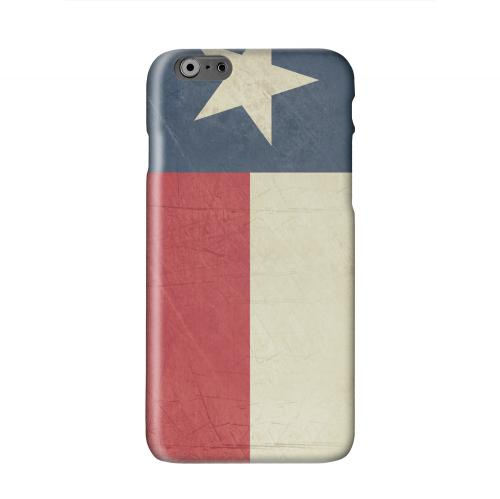 Grunge Texas Solid White Hard Case Cover for Apple iPhone 6 PLUS/6S PLUS (5.5 inch)