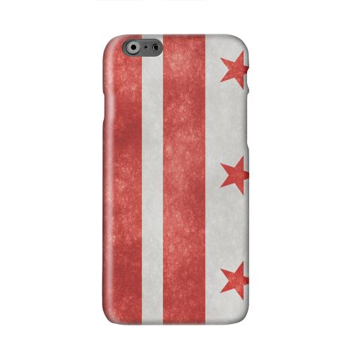 Grunge Washington, D.C. Solid White Hard Case Cover for Apple iPhone 6 PLUS/6S PLUS (5.5 inch)