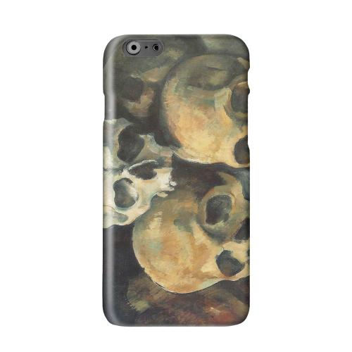 Paul Cezanne Pyramid of Skulls Solid White Hard Case Cover for Apple iPhone 6 PLUS/6S PLUS (5.5 inch)