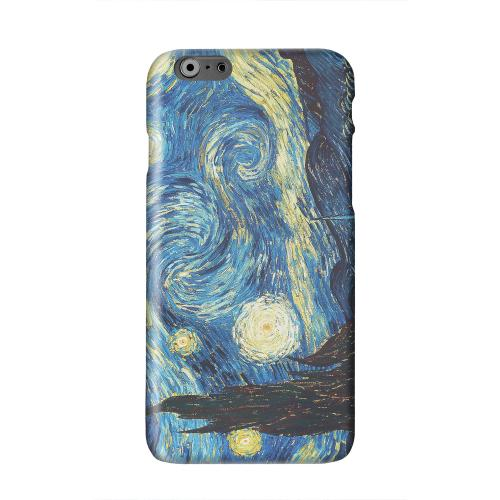 Vincent Van Gogh Starry Night Solid White Hard Case Cover for Apple iPhone 6 PLUS/6S PLUS (5.5 inch)