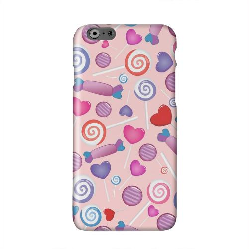 Assorted Candy Solid White Hard Case Cover for Apple iPhone 6 PLUS/6S PLUS (5.5 inch)