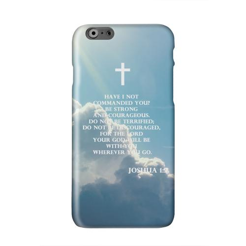 Joshua 1:9  Solid White Hard Case Cover for Apple iPhone 6 PLUS/6S PLUS (5.5 inch)