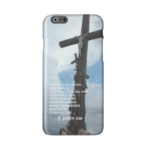 John 3:16  Solid White Hard Case Cover for Apple iPhone 6 PLUS/6S PLUS (5.5 inch)