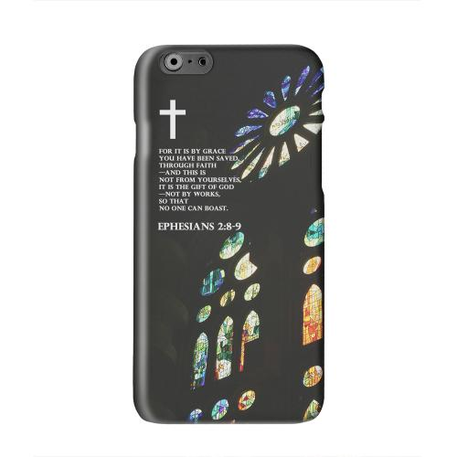 Ephesian 2:8-9  Solid White Hard Case Cover for Apple iPhone 6 PLUS/6S PLUS (5.5 inch)