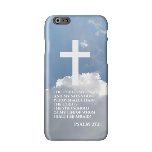 Psalm 27:1  Solid White Hard Case Cover for Apple iPhone 6 PLUS/6S PLUS (5.5 inch)