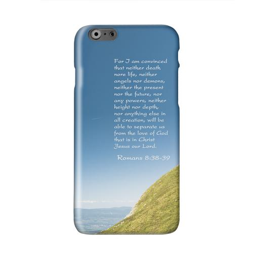 Romans 8:38-39  Solid White Hard Case Cover for Apple iPhone 6 PLUS/6S PLUS (5.5 inch)